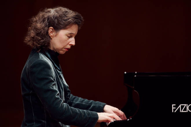 Angela Hewitt has used the Fazioli piano for all her European recordings since 2003