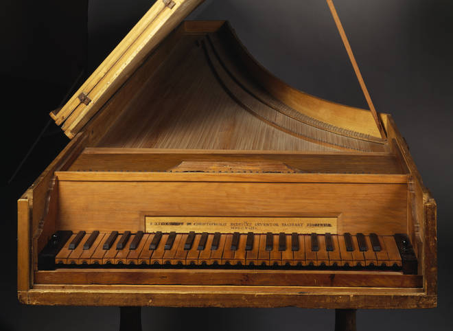 A piano made by Bartolomeo Cristofori