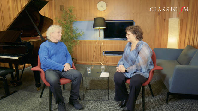 What do conductors actually do? Sir Simon Rattle has the answer.