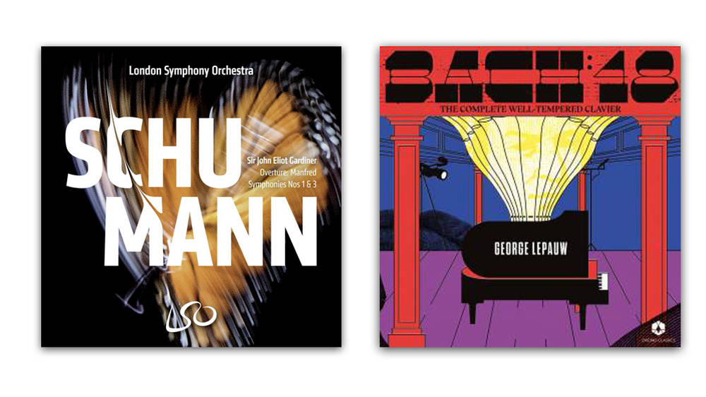 New Releases: Schumann: Symphonies Nos. 1 & 3 – LSO; BACH 48 – George Lepauw