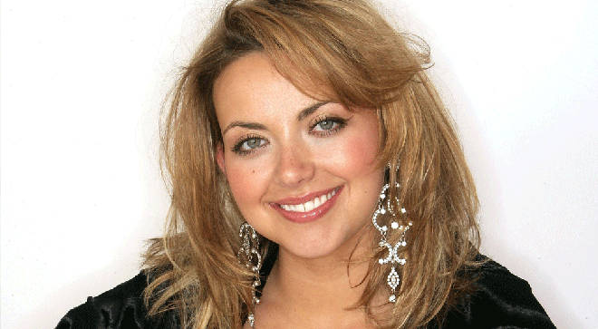 Welsh soprano Charlotte Church
