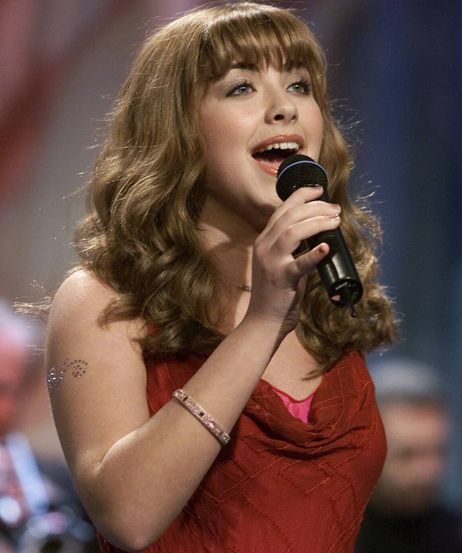 Charlotte Church sang on the Jay Leno show in 2000