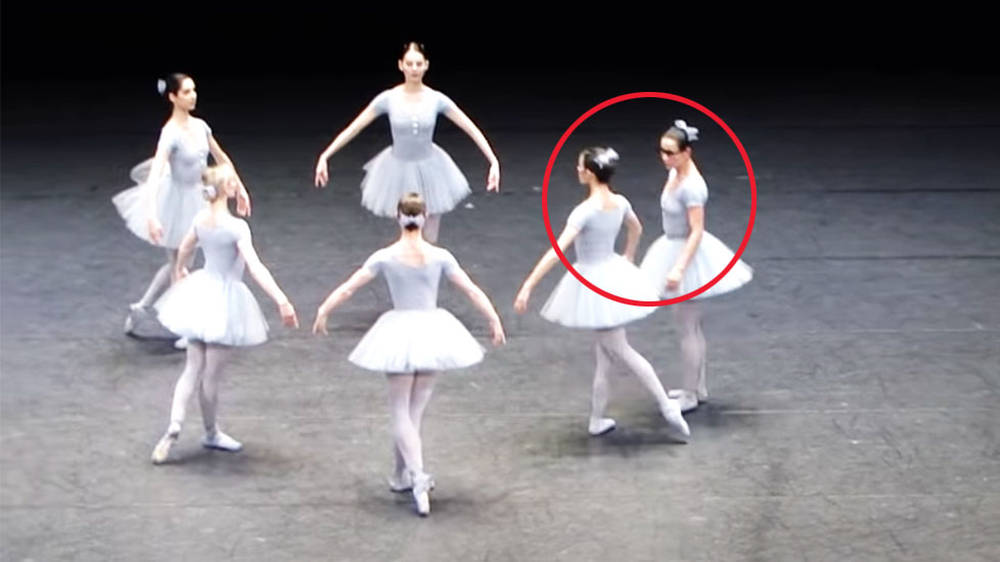 The genius 'mistake' ballet, where everything goes wrong