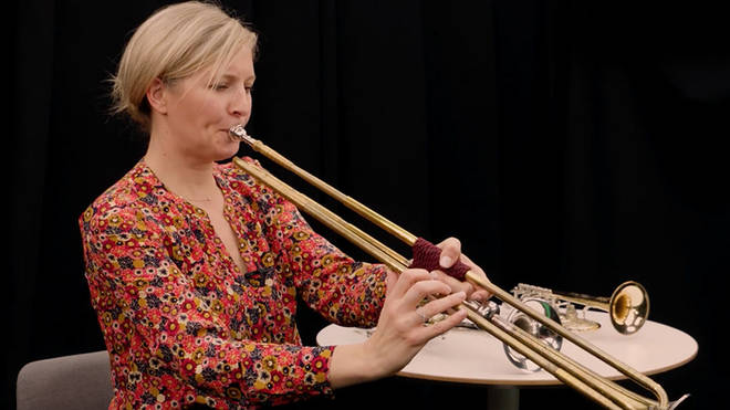 Alison Balsom plays the baroque trumpet
