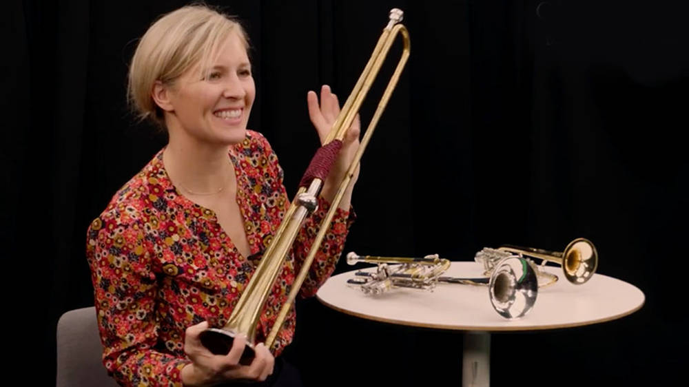 What is a baroque or 'natural' trumpet – and how do you play it?