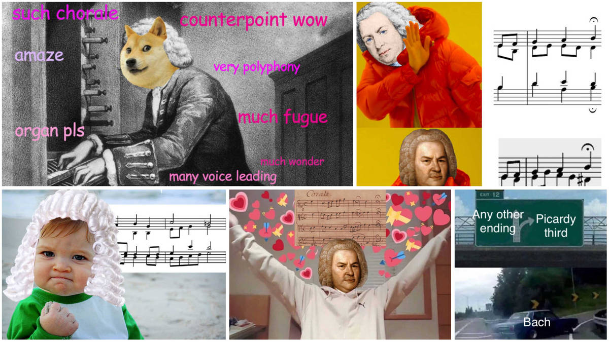 10 Bach memes to accurately teach you harmony and counterpoint