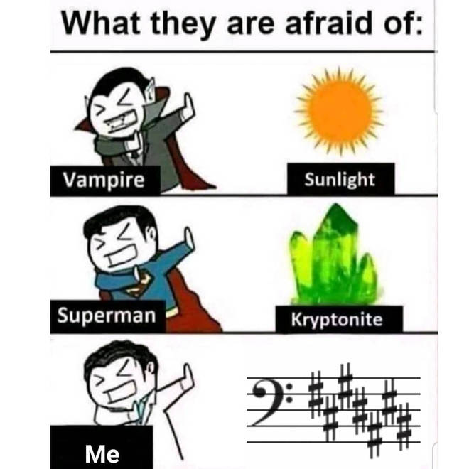 What musicians are afraid of