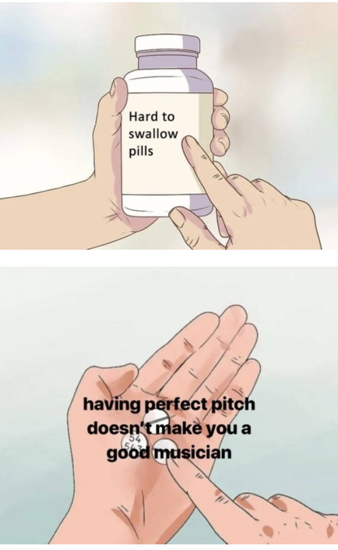Hard to swallow pills