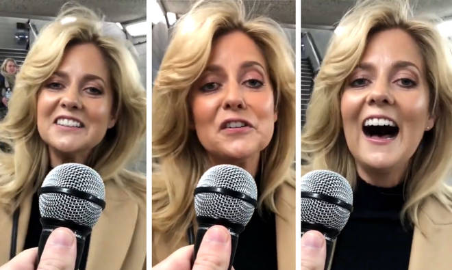 Commuter gives incredible rendition of Lady Gaga's 'Shallow' in 'finish the lyrics' challenge in London Underground