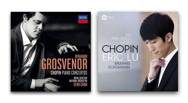 Chopin Piano Concertos – Benjamin Grosvenor; Chopin – Eric Lu