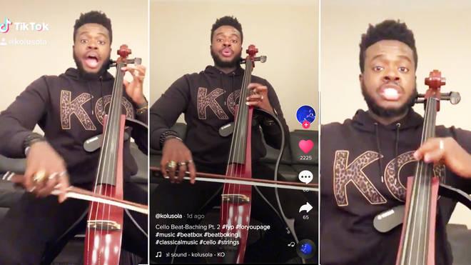 Guy 'celloboxing' on TikTok goes viral