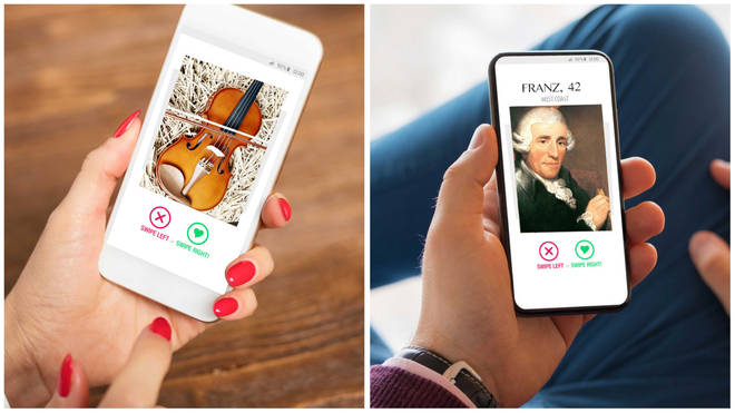 Classical dating apps