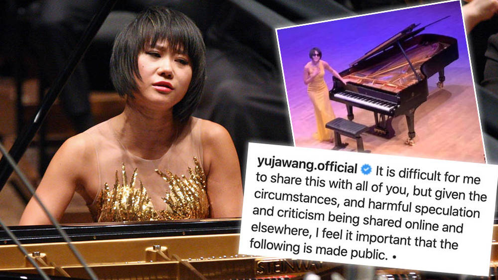 Pianist Yuja Wang issues emotional reply after critics shame her for wearing glasses on stage