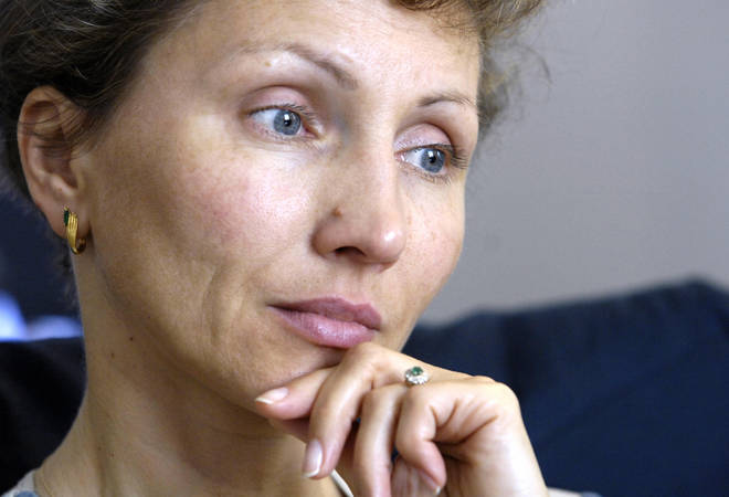 Marina Litvinenko seeks justice for the death of her husband.