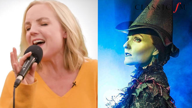 "Kerry Ellis is best known for ""painting herself green"" as Elphaba in Wicked"