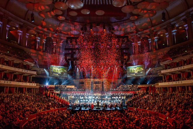 The Invictus Game Choir performed at Classic FM Live