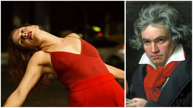 Kassandra Wedel dances to Beethoven's Symphony No. 5