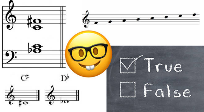 Music theory 'True or False' quiz