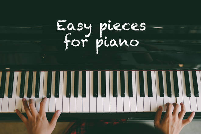 Easy piano pieces