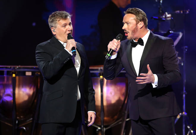 Russell Watson and Aled Jones perform at The Global Awards 2020 with very.co.uk