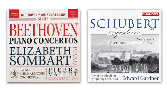 Beethoven Piano Concertos and Schubert Symphonies