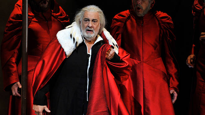 Plácido Domingo in the Royal Opera's production of Verdi's I Due Foscari