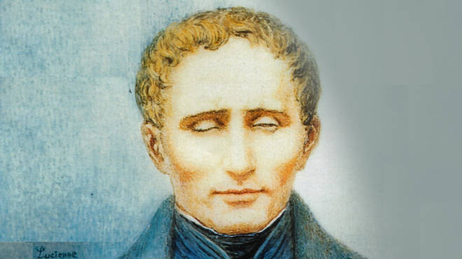 Louis Braille, the inventor of the braille code of reading and writing.