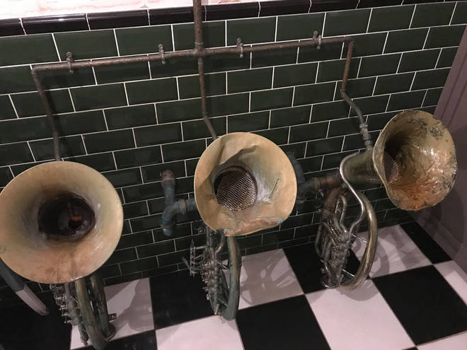 Brass urinals