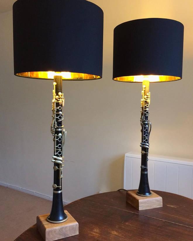 Clarinet lamps