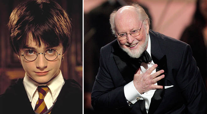 John Williams scored the first three Harry Potter movies