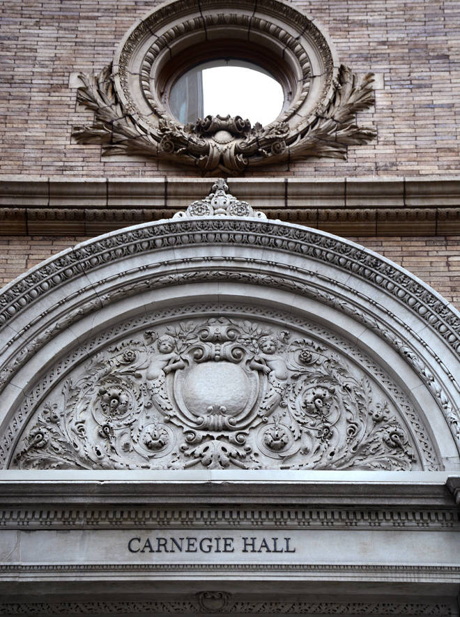 Carnegie Hall in New York has closed its doors due to coronavirus.