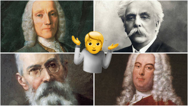 Most people can't tell these famous classical composers apart – can you?