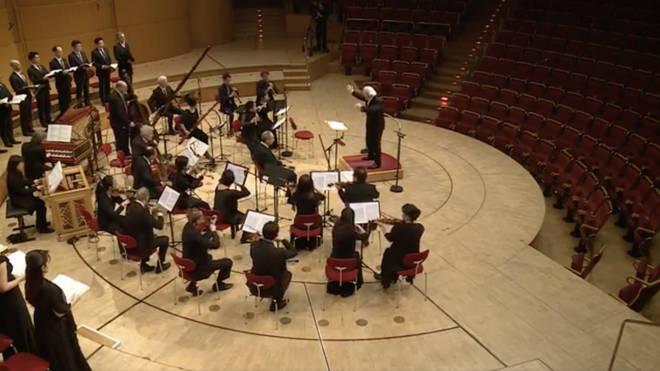 Bach Collegium Japan live stream