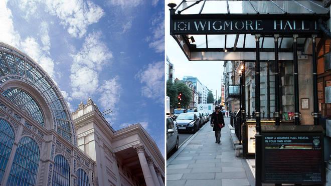 Wigmore Hall and Royal Opera House close due to coronavirus measures
