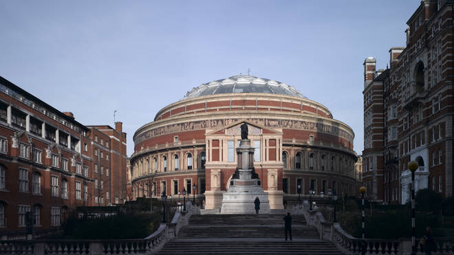 The Royal Albert Hall, which turns 150 next year, is temporarily closed due to coronavirus.