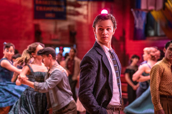Ansel Elgort stars as Tony