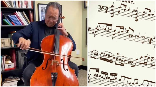 Yo-Yo Ma Bach Sarabande