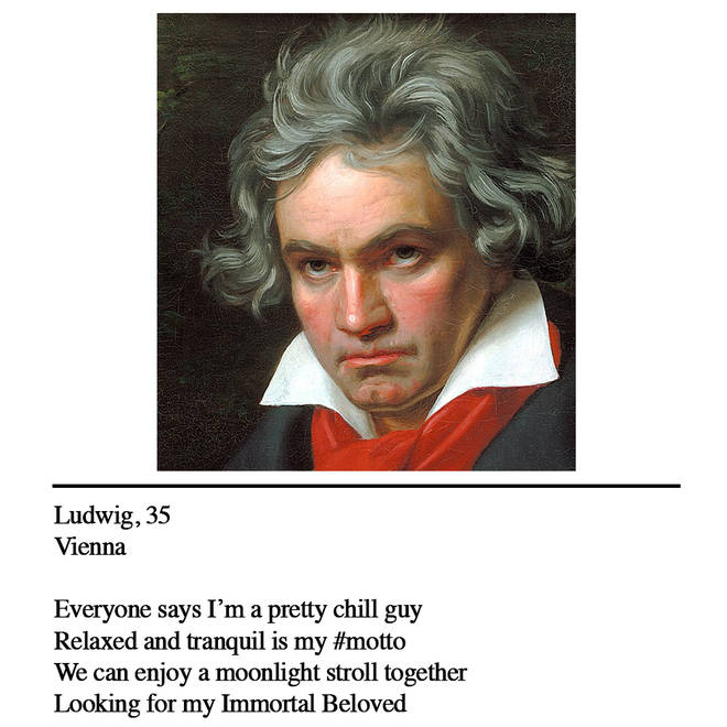 Beethoven dating profile
