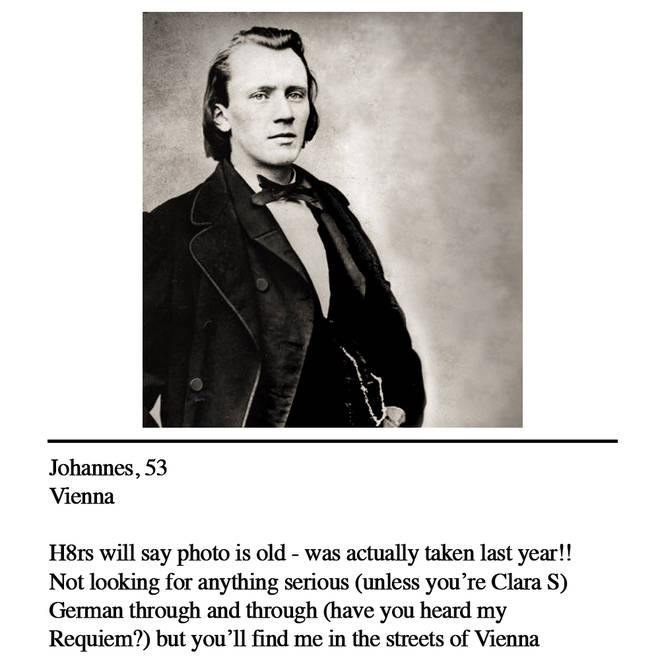 Brahms dating profile