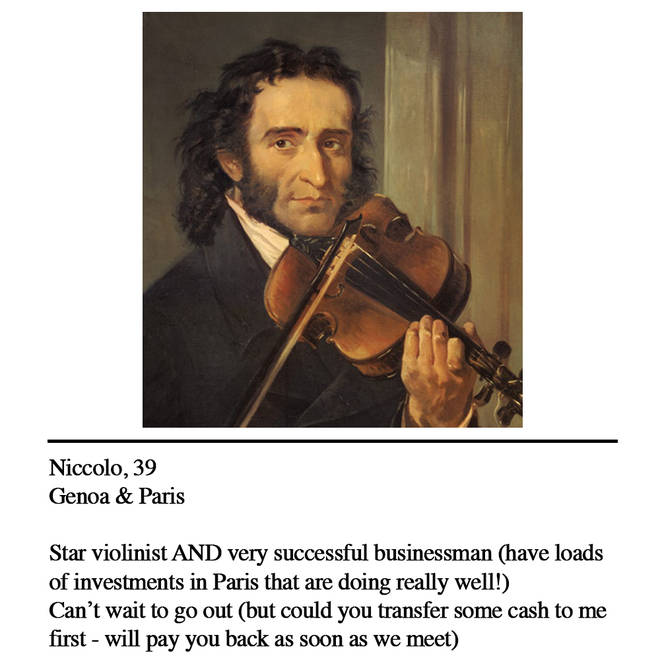 Paganini dating profile