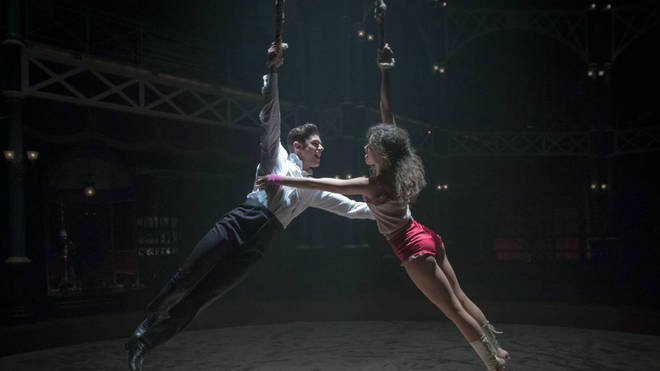 Zac Efron and Zendaya in 'The Greatest Showman'