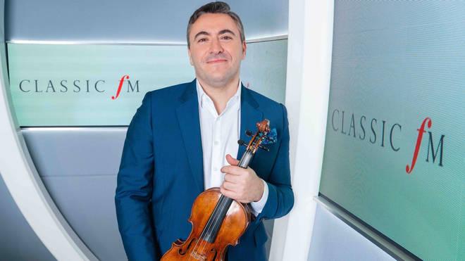 Classic FM's Artist in Residence, Maxim Vengerov