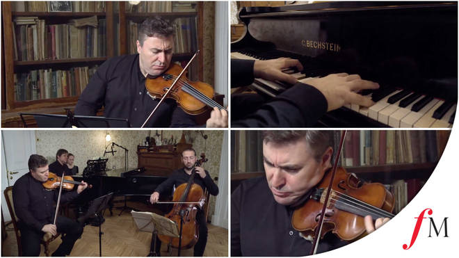 Watch Maxim Vengerov's exclusive at-home concert for Classic FM