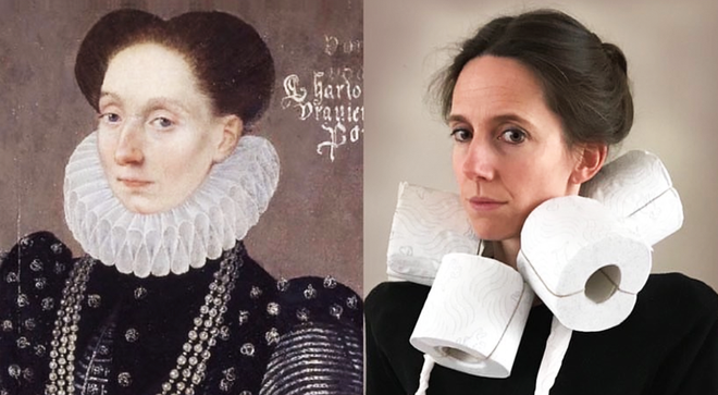 People are recreating famous paintings at home during coronavirus quarantine