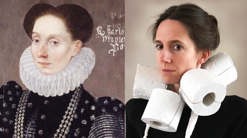 People are recreating famous paintings at home during coronavirus ...