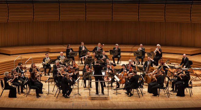 Northern Sinfonia play at the Sage Gateshead.