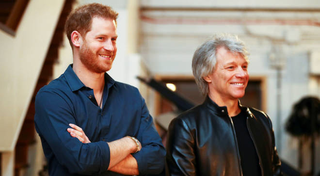 Prince Harry teams up with Bon Jovi and Gareth Malone's choir to release charity single