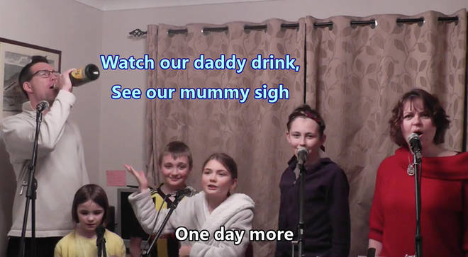 Quarantined family recreates 'One Day More' from Les Mis in hilarious spoof
