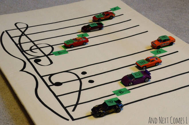 Music theory cars
