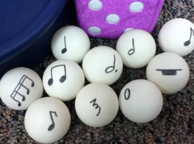 Ping-pong rhythms